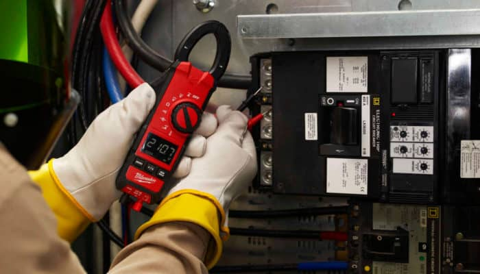 Electrical Panel Multimeter - Lake Charles Industrial Electricians